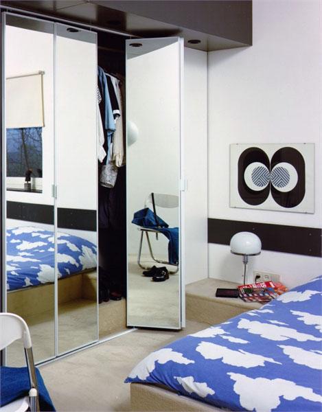 ארון דלתות מתקפלות חדר ילדים
